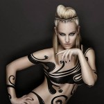 Edurne - body painting 05
