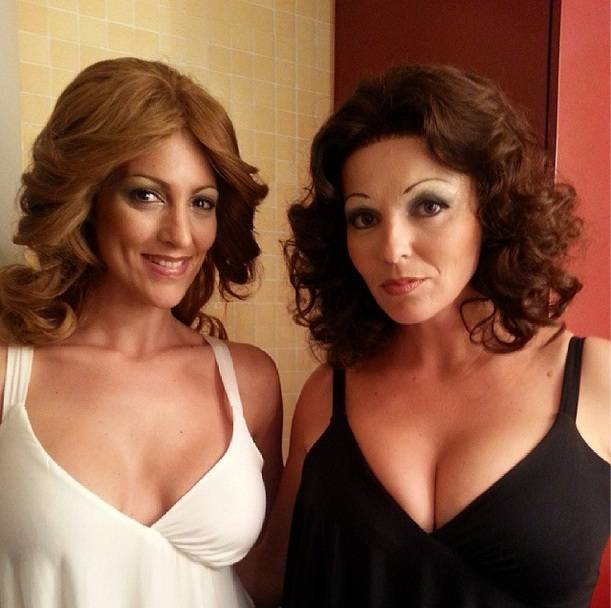 Rocio Madrid y Carolina Ferre Twitpic