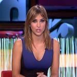 Sandra Sabatés preciosa y escotada presentando El Intermedio el pasado lunes