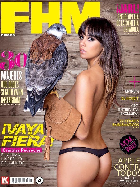 Cristina Pedroche - FHM portada