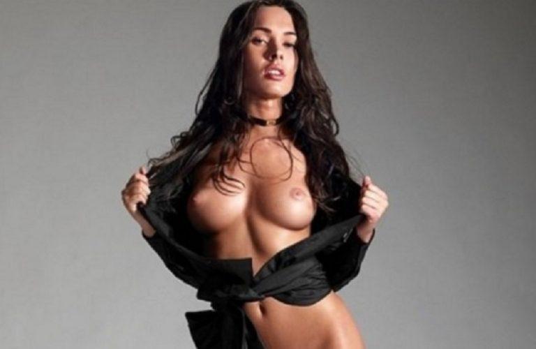 Megan Fox Transformer Shoot No Bra Nipple See Through