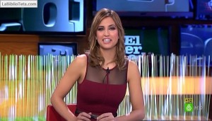 Sandra Sabates - El Intermedio 09