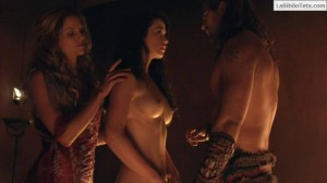 Gwendoline Taylor - Spartacus 3x03 - 04