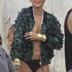 Rihanna topless 12