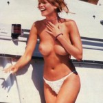 Claudia Schiffer - yacht topless 02