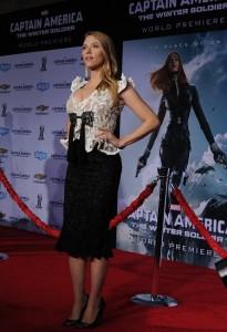 Scarlett Johansson - Captain America premiere 04