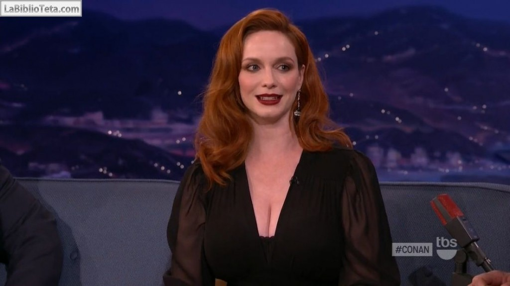 Christina Hendricks - Conan 01