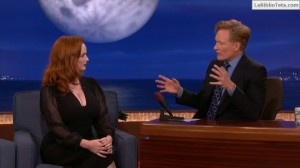Christina Hendricks - Conan 02