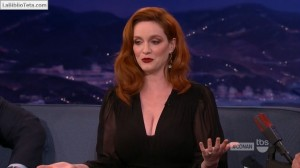Christina Hendricks - Conan 06