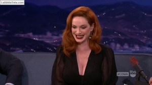 Christina Hendricks - Conan 07