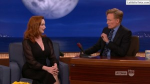 Christina Hendricks - Conan 08