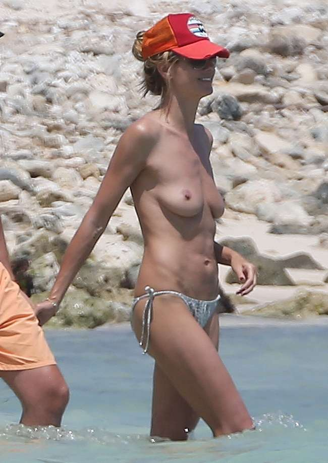Heidi klum bares almost all in sexy new instagram photo