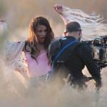 Lea Michele nipple slip 02