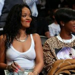Rihanna Nets game 06