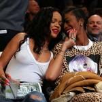 Rihanna Nets game 07