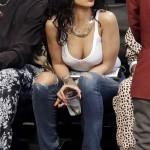Rihanna Nets game 11