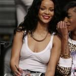Rihanna Nets game 12