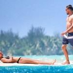 Toni Garrn - Leo Dicaprio 03