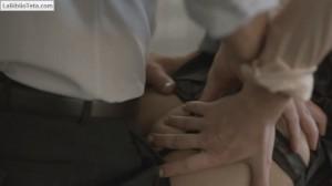 Kathleen Robertson - Boss 1x03 - 04