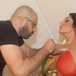 Marika Fruscio bodypaint 04