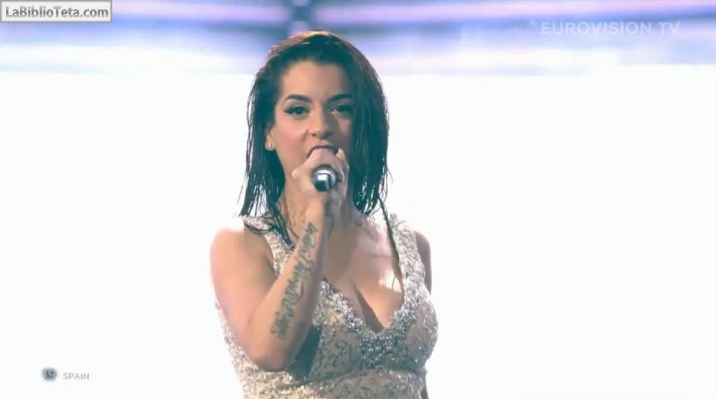 Ruth Lorenzo - Eurovision 01