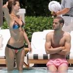 Malena Costa y Mario Suarez - Miami 06