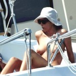 Monica Bellucci . topless yacht 07