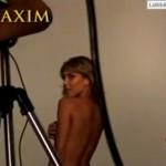 Erika Sanz - Maxim making of 01