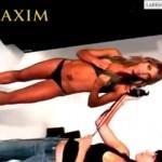 Erika Sanz - Maxim making of 06