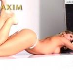 Erika Sanz - Maxim making of 07