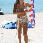 Ludivine Sagna bikini 05