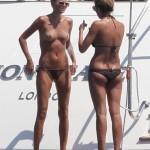 Toni Garrn - topless Ibiza 03