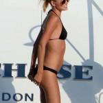 Toni Garrn - topless Ibiza 11