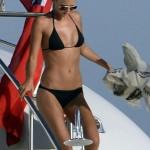 Toni Garrn - topless Ibiza 13
