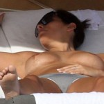 Aida Yespica topless Miami 08