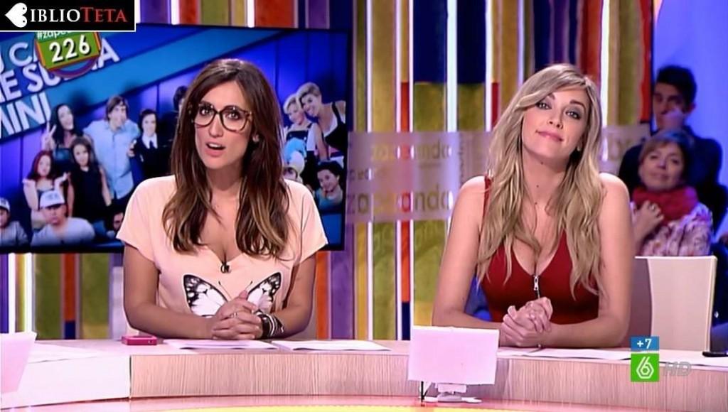 Anna Simon y Ana Morgade - Zapeando 01