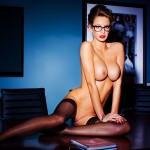 Emily Agnes - Playboy 25