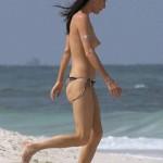 Jaime Murray topless Mexico 04