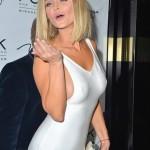Joanna Krupa - side boob pokies 03