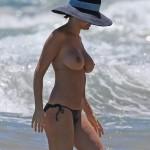 Lara Bingle topless Hawaii 09