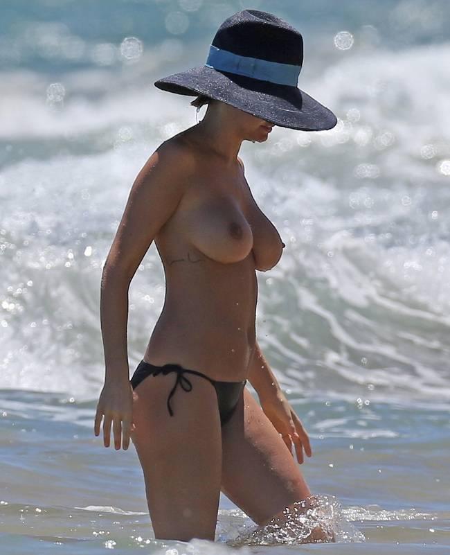 Lara Bingle: Brendan Fevola soll Nacktfoto von ihr beim