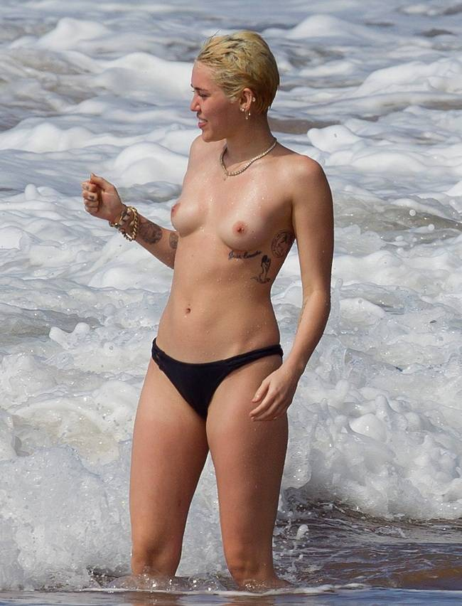 free nude photos of miley cyrus