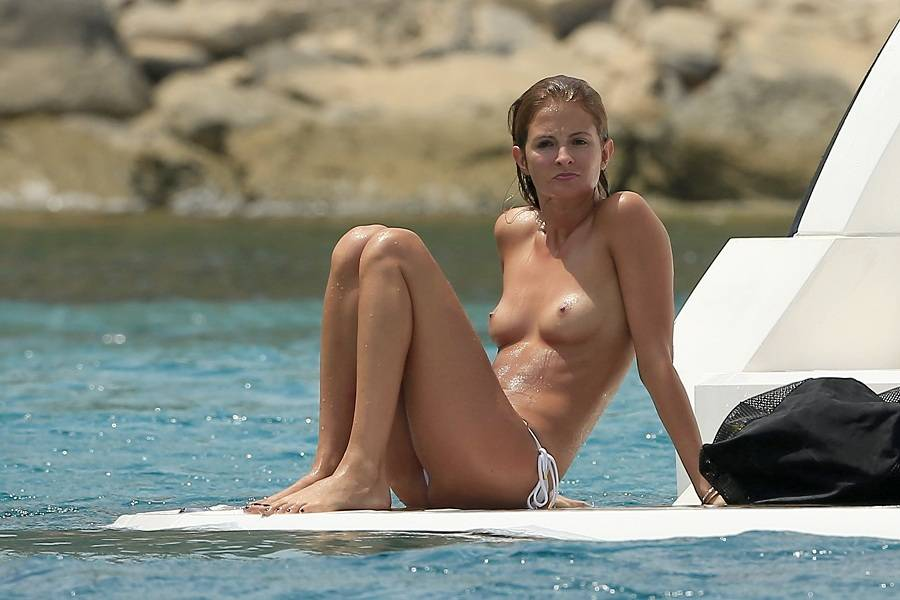 Millie Mackintosh - topless Ibiza 01