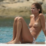 Millie Mackintosh - topless Ibiza 06