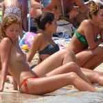 Millie Mackintosh - topless Ibiza 11