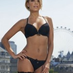 Sylvie Van der Vaart - thong London 02