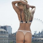 Sylvie Van der Vaart - thong London 06
