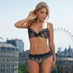 Sylvie Van der Vaart - thong London 07