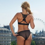 Sylvie Van der Vaart - thong London 08