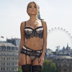 Sylvie Van der Vaart - thong London 09